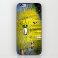 ducks iPhone & iPod Skins featuring ducks by  Agostino Lo Coco