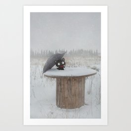 Winter Adventures Art Print