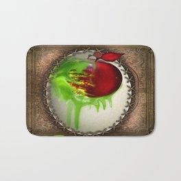 Poison Apple  Bath Mat