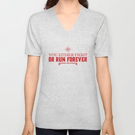 Don't Be A Coward Unisex V-Neck