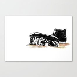 new shoes for old souls Canvas Print