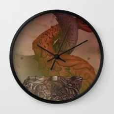 dragons de Cluny Wall Clock