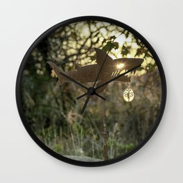 Shark Bite Wall Clock
