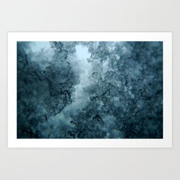 frosted Art Print