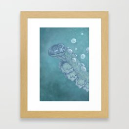 Fishbone Framed Art Print