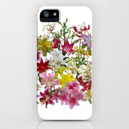 Lots of lilies to love! iPhone Case