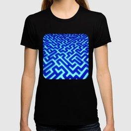 Maze Blue T-shirt