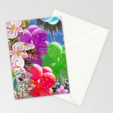 BALLOON LOVE:  Tropical Pop Stationery Cards