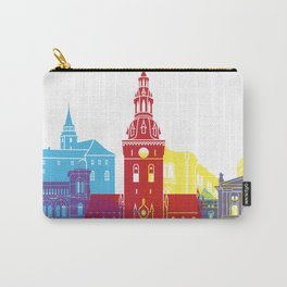 Oslo skyline pop Carry-All Pouch