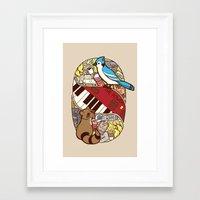 regular show Framed Art Prints featuring Regular Show by NaturalPop
