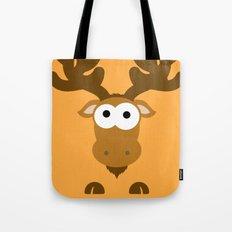 Minimal Moose Tote Bag