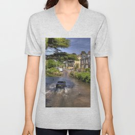 Sidmouth River Crossing  Unisex V-Neck