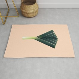 Oh no, theres a leek! Rug
