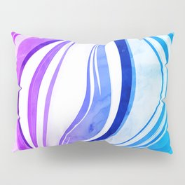 Melting Vivids, 2016 Pillow Sham