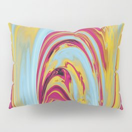 The Flaring Falls of Strine Canyons (Lava Variant) Pillow Sham