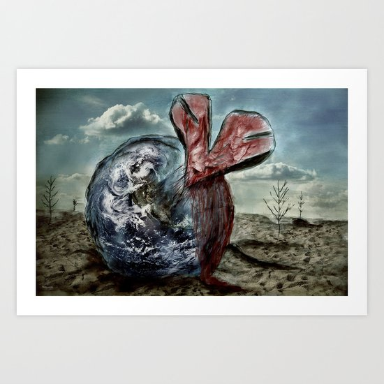 Save our World 13  Art Print