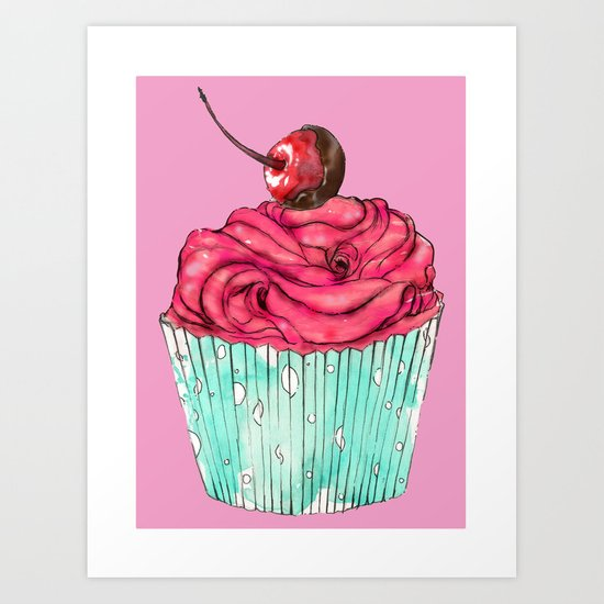 Creative Cupcake... Art Print