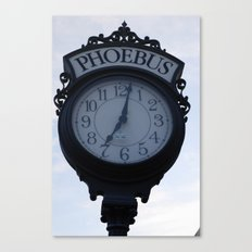 Einstein's clock is exactly one minute... Canvas Print