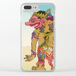 Kumbakarna character in Ramayana story Clear iPhone Case