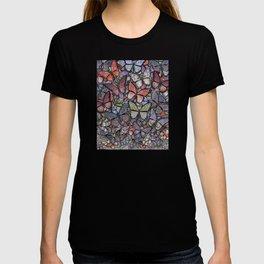 butterflies galore grunge version T-shirt