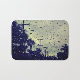 rainy day. Bath Mat