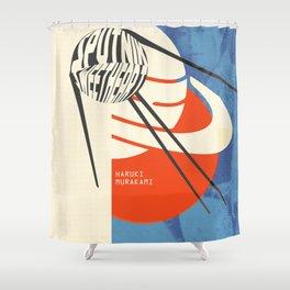 Sputnik Sweetheart by Haruki Murakami Shower Curtain