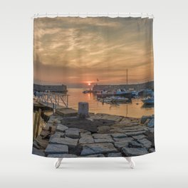 Summer sunset at Lanes Cove Shower Curtain