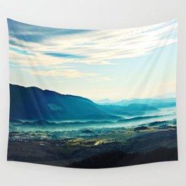 Blue Vista Wall Tapestry