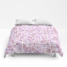 Pastel Triangles 3 Comforters