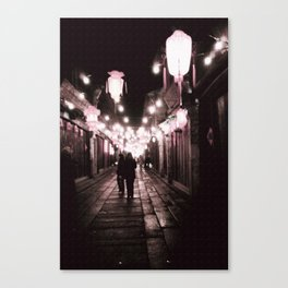 Full of Love in this street Canvas Print