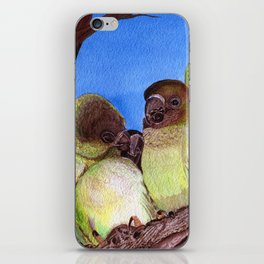 Birds of a Feather by Maureen Donovan iPhone Skin