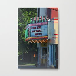 Maumee Movie Theater II Metal Print