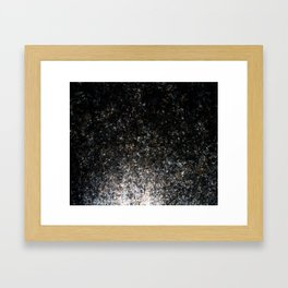Light from down there Framed Art Print