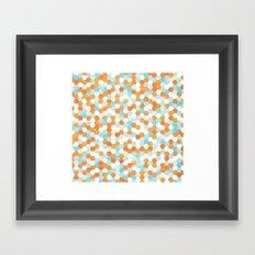 Honeycomb | Fish Bowl Framed Art Print