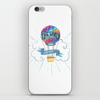 tolkien iPhone & iPod Skins featuring The World Is Out There; The Hobbit, J.R.R. Tolkien by astoldbycaro