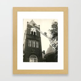 Tree Removal Framed Art Print