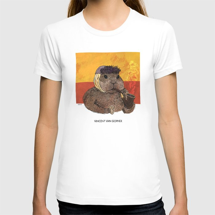 Vincent van Gopher T-shirt