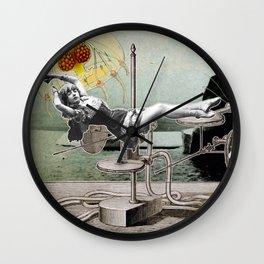 Surrealist Arctic Operations Wall Clock