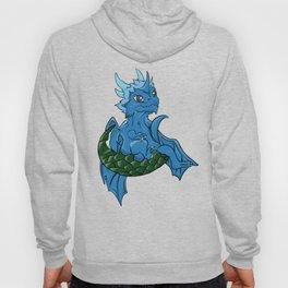 Blue Ice Dragon Hoody