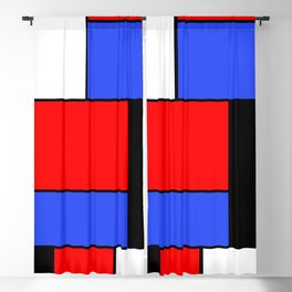 Mondrian #51 Blackout Curtain