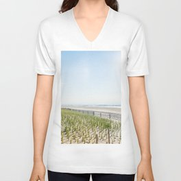 At the Jersey Shore Unisex V-Neck