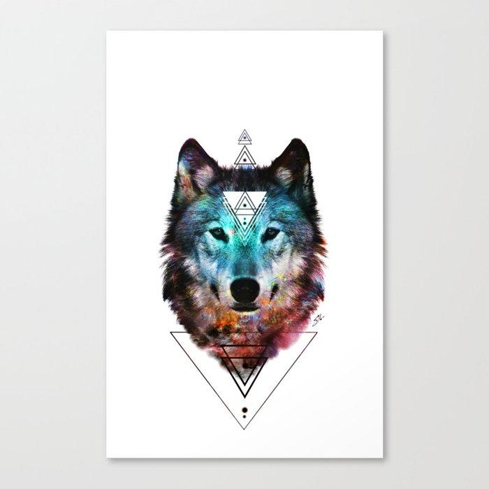 Sacred Wolf Canvas Print