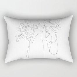 Leaves Teen Art Rectangular Pillow