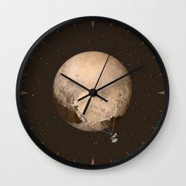 Love the Pluto Wall Clock