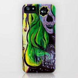 Citrus Sugar Skull iPhone Case
