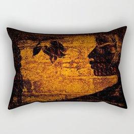 Black Roses Rectangular Pillow