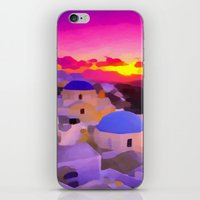 greece iPhone & iPod Skins featuring Greece  by Xchange Art Studio