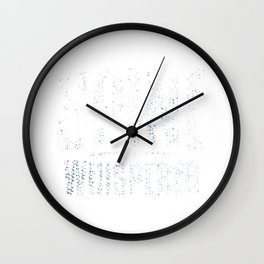 Chiropractor Occupation Spine Adjustment Funny Gift Wall Clock