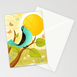 Early To Rise Stationery Cards