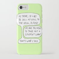 college iPhone & iPod Cases featuring college by s t i n g s